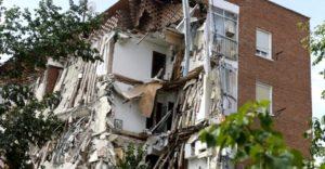 effondrement immeuble Madrid