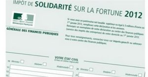 réforme ISF 2012