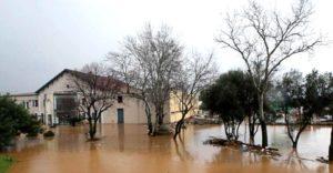 inondations dans le sud