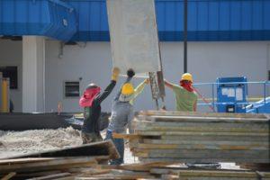 construction différents types chapes