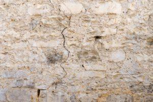 sécheresse apparition fissures