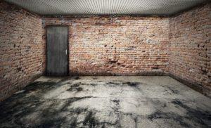 fissures garage