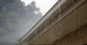 eaux provenant du toit