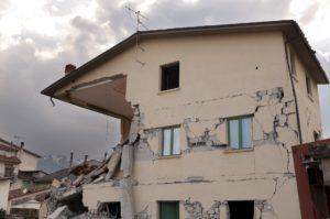 effondrement mur