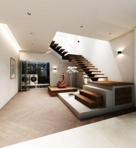 trémie escalier