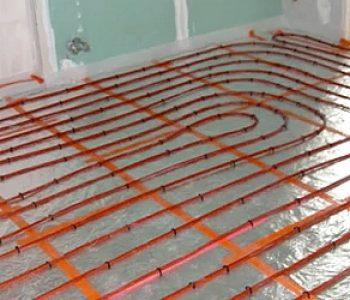 plancher chauffant éléctrique