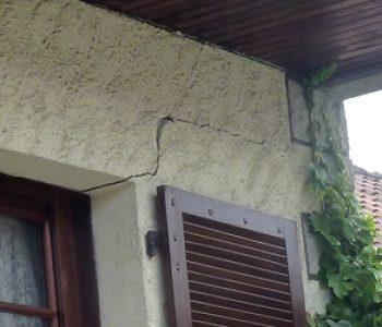 technique renforcer maison fissurée